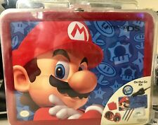 Nintendo DS Lite Starter Kit Lunchbox Tin MARIO NIB
