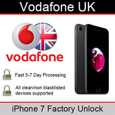 Vodafone UK iPhone 7 Factory Unlocking Service