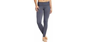 CALIA Women's Essential Tight Fit Heathered Leggings Dk Hthr Grey XS 00019HLL J
