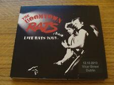 Slip Double: The Boomtown Rats : Live Rats 2013  Dublin  Vicar Street