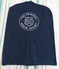 The Original Denim Jacket Celebrating 50 Years Garment Bag Jeans Blue Cotton