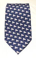 Nwot Vineyard Vines Martha's Vineyard Whales In Blue Men's Necktie 100% Silk Usa