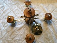 Vintage Lighting Fixtures Ceiling Light four bulb No Globes