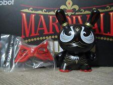 "◆Kidrobot 2014 Mardivale Series 3"" BLACK SWAN Dunny Andrew Bell vinyl scribe◆"