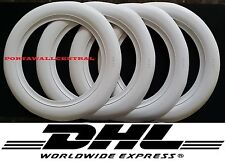 15'' Wide White Wall Portawall Tire insert Trim set For Car 4x