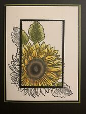Stampin Up Celebrate Sunflowers Card Kit
