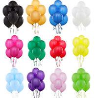 100 stück Perlglanz Latex Luftballons Feier Party Hochzeit Geburtstag Deko