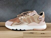 adidas Nite Jogger Boost 'Rose Gold' Running Shoes [Women's Size 9] EE5908 $130