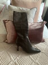 Ladies Brown Boots Jones Boot Maker Size 39