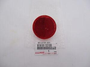 Genuine OEM Toyota Scion 81910-12100 Rear Reflector Panel