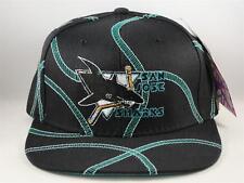 Kids Youth Size San Jose Sharks NHL Vintage Snapback Cap Hat American Needle b0c001cd298d