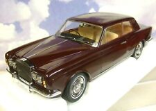 1/18 PARAGON 1966-77 ROLLS ROYCE SILVER SHADOW MPW RHD 2 DOOR COUPE BURGUNDY RED