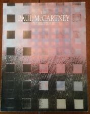 The Paul McCartney World Tour Official Souvenir Program 1989