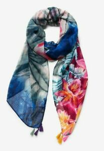 Desigual Women's Larger Scarf/Wraps with Tassels Brand New with Tag