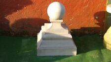 Two large Victorian ball finial with small ball , gate post top ornament stone