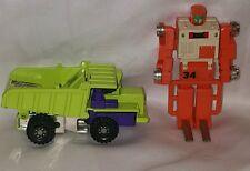 BANDAI HASBRO 2PC~1984 GOBOT orange 34 TRANSFORMER•TAKARA▪1980 green truck