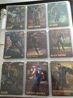COMPLETE Set Of 75 Marvel Arcade Game Cards Contest Of Champions NonFoil LOOK