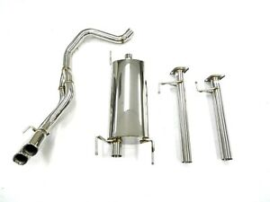 S/S Maximizer Cat. Back Exhaust System for 2003-09 Toyota 4Runner 4.0L 4.7L