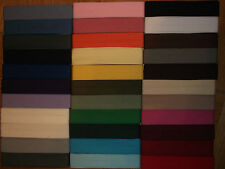 2.5 Metres POLYESTER / COTTON BIAS BINDING - 25mm WIDE - CHOICE OF 33 COLOURS