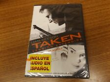 Taken [Spanish] DVD Region 1 WS New Factory Sealed