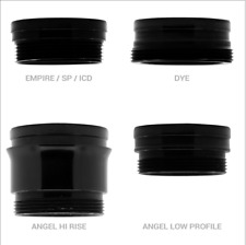 Inception Designs Feedneck Stub - Gloss Black - New - DYE