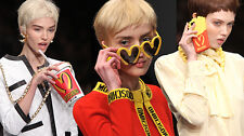 Moschino Couture X Jeremy Scott JS Fast Food McDonald's Cardigan Wool Cashmere M