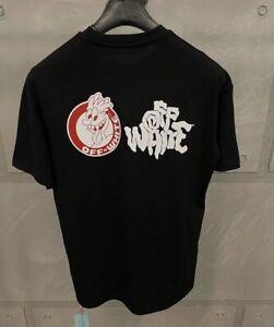 Off White Men's Black T-shirt