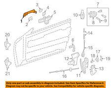 Mercedes MERCEDES-BENZ OEM-Outside Exterior Door Handle Left 20476013709999