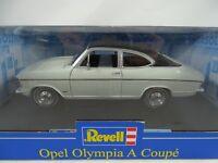 1:18 Revell #08446 OPEL OLYMPIA A Coupé Blanco/Negro - Rareza NUEVO / CAJA ORIG.