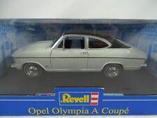 1:18 Revell #08446 OPEL OLYMPIA A Coupè Bianco/Nero - Rarità Nuovo / conf. orig.