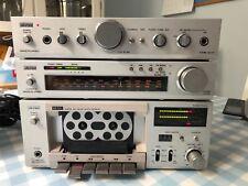 Top Quality Vintage Toshiba Aurex Hi-Fi System 10 Amp, Tuner & Cassette Deck