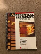 Essential Elements 2000 Percussion Book 2 With 2 Cd'S