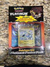 Pokemon TCG Base Set Platinum Sealed Poster Pack Magnezone Promo 2 Booster Packs