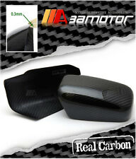 Dry Carbon Fiber Door Side Mirror Covers Set for Mitsubishi Evolution EVO 7 8 9