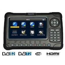 HD-LINE HD-7080 Mesureur de champ DVB-S2 + DVB-C + DVB-T2 COMBO SAT TERRESTRE