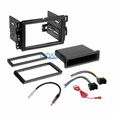 Car Radio Stereo Dash Kit Harness for 06-up Buick Chevrolet Gmc Pontiac Saturn