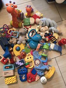 Babyspielzeug - Gebraucht - Bagger - Bauklötze