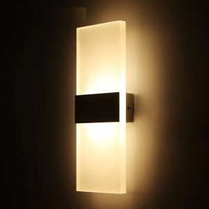 LED wall light AC110V220V indoor lighting home bedroom bedside lamp living room