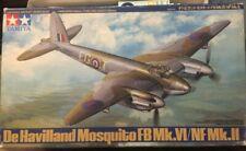 Tamiya 1/48 Model Airplane Kit De Havilland Mosquito FB Mk.vi/nf Mk.ii 61062