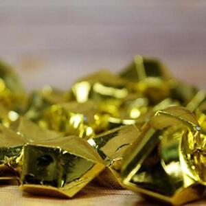 Quasimoon Gold Colored Gemstones Acrylic Crystal Wedding Table Confetti Vase ...