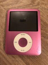 Apple iPod Nano 3rd Generation Pink (8GB)