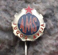 AMS Yugoslavia Automobile Association AAA Car Rescue Club Members Pin Badge