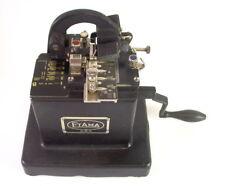 museale Etikettiermaschine Stempelmaschine - Etama DRP