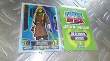 KIT FISTO - 231 - Force Meister - Clone Wars Serie 2 - Star Wars Force Attax