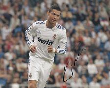 Cristiano Ronaldo *Real Madrid* Original AUTOGRAMM auf Farbfoto 8x10 Zoll SIGNED