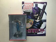 MARVEL UNIVERSE FIGURINE COLLECTION ISSUE 23 HAWKEYE PANINI FIGURE + MAGAZINE