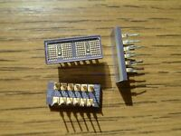 Avago Technologies HCMS-2353 LED-Anzeige Grün 574nm 1x4 Alphanumeric *Neu*