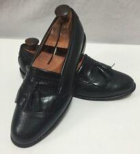 Allen Edmonds Bridgeton Black Tassle Kilte Brogue Loafers Mens Dress Shoe (2197)