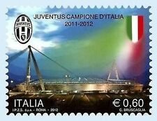 Francobollo  JUVE ITALIA  commemorativo JUVENTUS Campione D'Italia 2011/2012