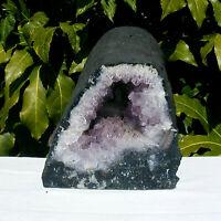 Amethyst Quartz Geode Cave Cathedral Natural Crystal Large Cluster 8.1kg 22cm